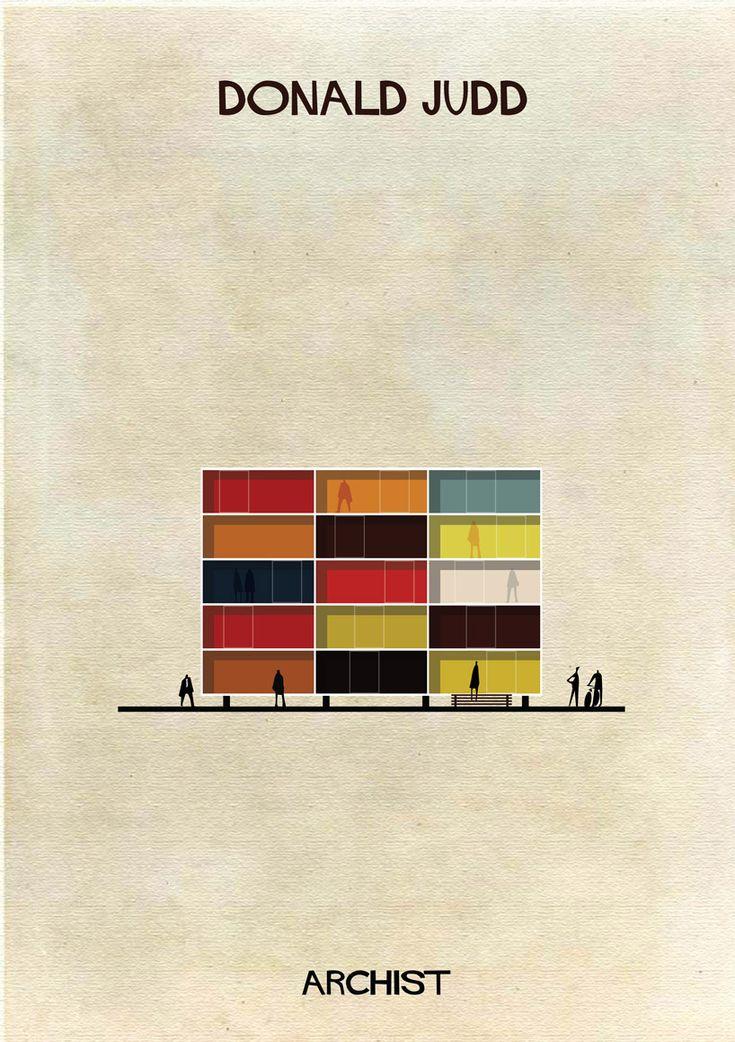 Galería - ARCHIST: Ilustraciones Famosas de Arte Reimaginadas como Arquitectura - 111