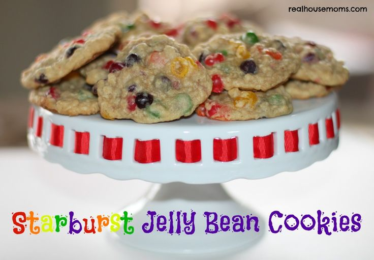 Starburst Jelly Bean Cookies | Real Housemoms | These are SOOOOOOO good!
