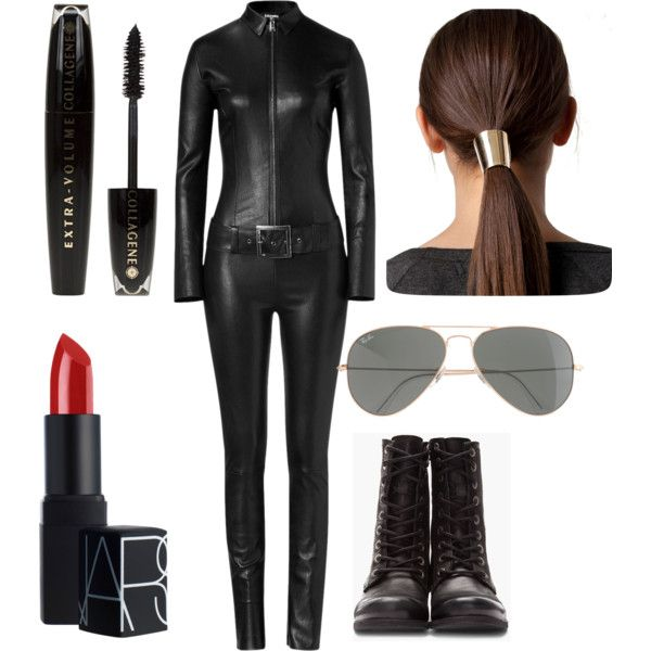 Spy Suit by fashionluv16 on Polyvore featuring Jitrois, Diesel, NLY Trend, J.Crew, NARS Cosmetics, L'Oréal Paris, women's clothing, women's fashion, women and female