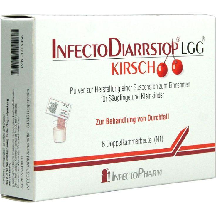INFECTODIARRSTOP LGG Kirsch Pulverz.Suspension-Herstell:   Packungsinhalt: 6 St Pulver zur Herstellung einer Suspension zum Einnehmen…