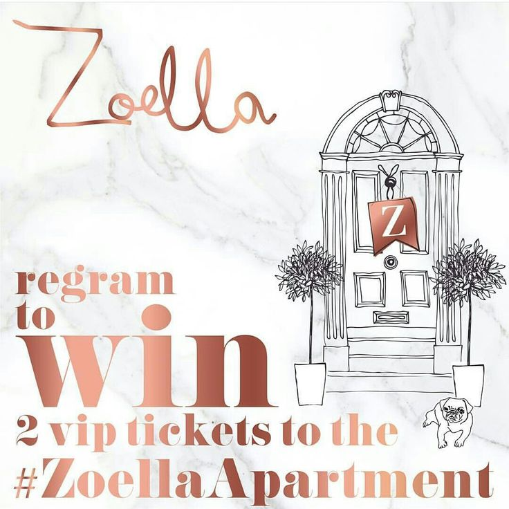 #ZoellaApartment  To enter