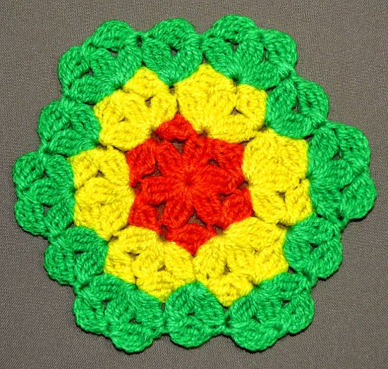 Crochet Flower Of Life Pattern : 11 best images about Registos de Santos on Pinterest ...