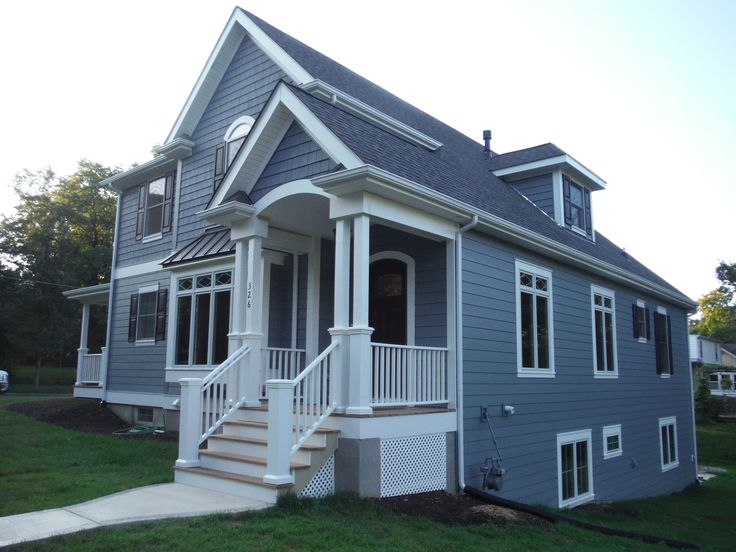 Picture Of Front Of House Showing Off The Hardietrim In