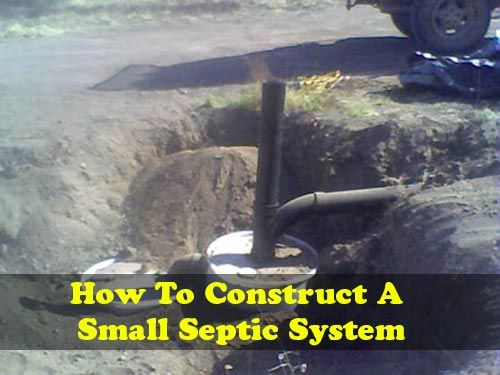How To Construct Your Own Small Septic System Http Www