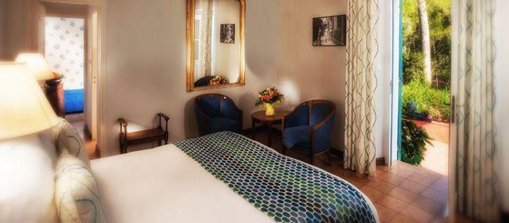 Le Mas du Langoustier hôtel 4 étoiles Porquerolles restaurant étoilé Michelin