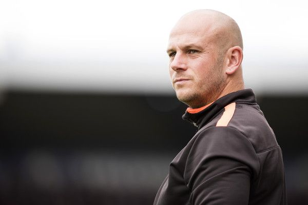 Adam Murray Photos Photos - Adam Murray, manager of Mansfield Town looks on during the Sky Bet League Two match between Mansfield Town and Notts County at One Call Stadium on October 8, 2016 in Mansfield, England. - Mansfield Town v Notts County - Sky Bet League Two