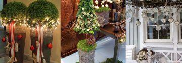 Winterdekoration ist nicht nur für drinnen…, da diese 10 Winter- und Herbst-Deko-Ideen für den Garten wirklich super cool sind!