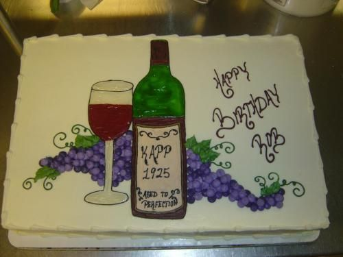 Cake Decorating Wine Bottles : 17 Best images about Themed Cakes on Pinterest Soccer ...