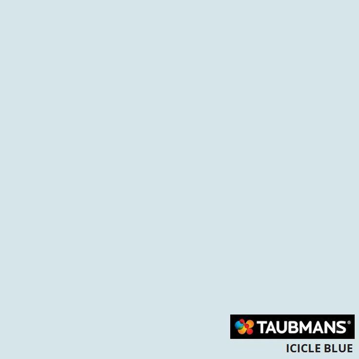 #Taubmanscolour #icicleblue