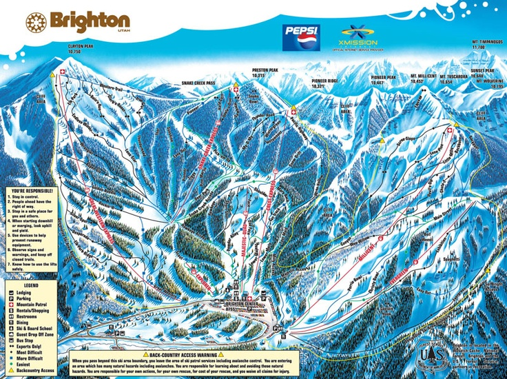 Brighton Ski Resort Utah The Place Where I Was Born In My Family You