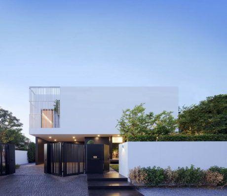 Дом ПК79 (PK79) в Таиланде от Ayutt and Associates design