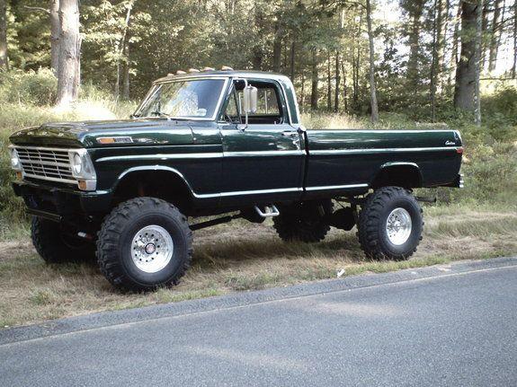 69 F250 Highboy | Trucks! | Pinterest | Ford 4x4, 4x4 and Ford