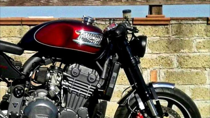 TRIUMPH Trophy 900 Cafe Racer BY Centi Garage