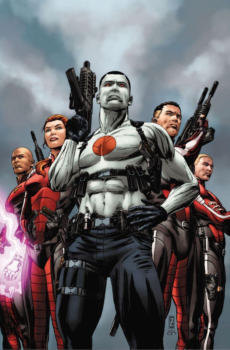 Bloodshot & H.A.R.D. Corps #16 regular cover by Patrick Zircher