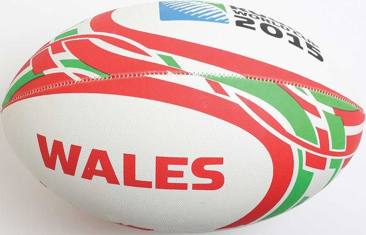 Ballon Rugby Supporteur Pays de Galles RWC 2015 / Gilbert