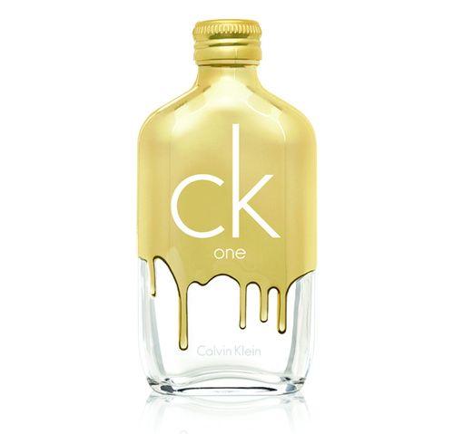 Inspiration de cadeaux Gold pour Noël : le parfum CK One Gold de Calvin Klein