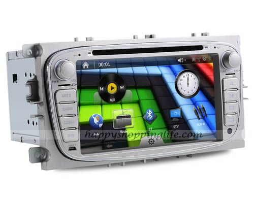 ford focus autoradio dvd gps with digital tv bluetooth usb. Black Bedroom Furniture Sets. Home Design Ideas