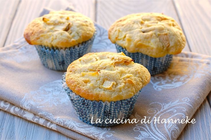 Muffin alle mele e uvetta