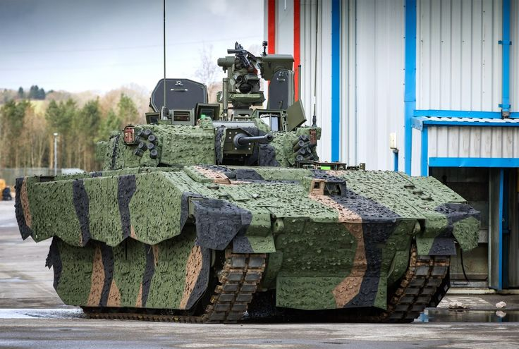 Ajax Scout SV CT40 40mm cannon light tracked armoured vehicle