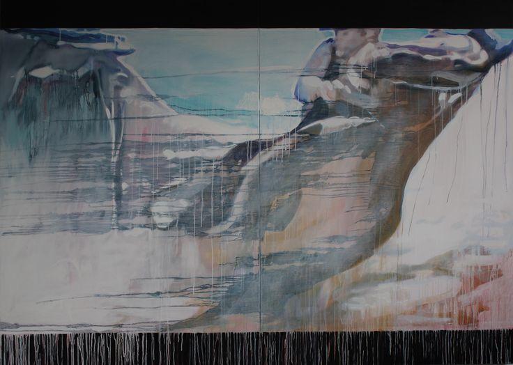 Rising Horse | Oil on Polymer |