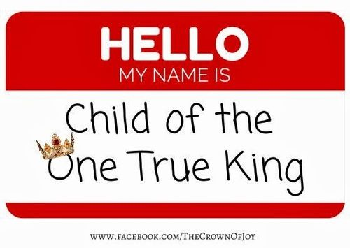 I am a Child of the King