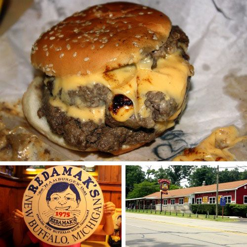 Redamak's   New Buffalo, Michigan  One of the best burgers ever!
