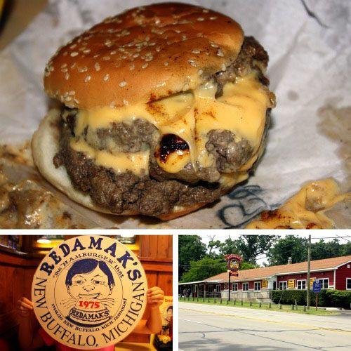 Redamak's   New Buffalo, Michigan  One of the best burgers ever!
