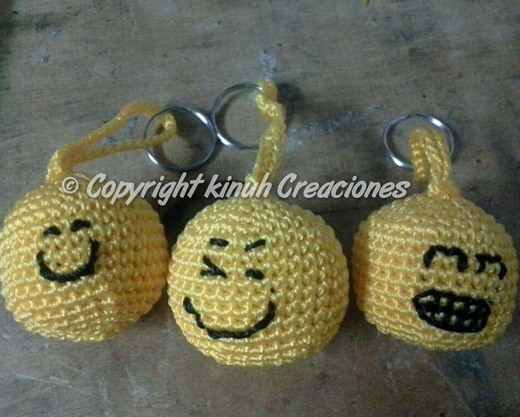 Knitting Emoji Copy : Mis emoticones emojis crochet ganchillo tejido