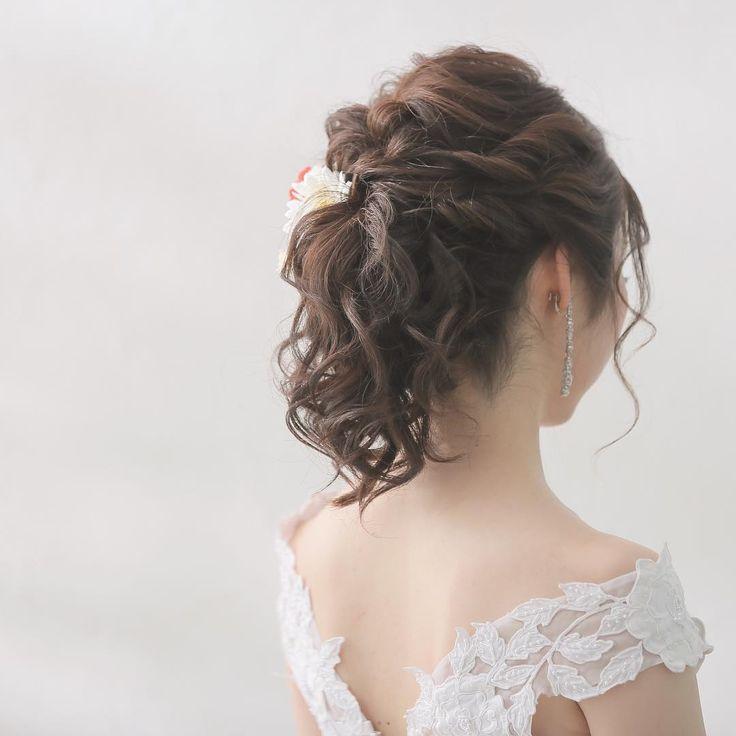 本日の新婦さま😊 とっても透明感のある新婦さまでした✨ #studiotvb #d_weddingphoto #スタジオTVB #フォトスタジオ #梅田 #関西花嫁 #大阪花嫁 #ウェディングフォト #ブライダルフォト #ロケーション撮影 #エンゲージフォト #カップルフォト #前撮り #後撮り #結婚写真 #和装前撮り #プレ花嫁 #結婚式 #ブライダル #花嫁 #ブライダルヘアメイク #ウェディングドレス #色打掛 #白無垢 #ヘアアレンジ #2018春婚 #2017冬婚 #ウェディングブーケ #ヘッドアクセサリー #結婚指輪