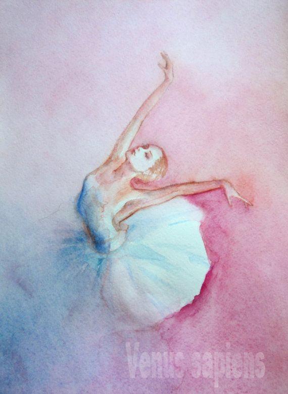 Offerta speciale originale di arte dell'acquerello di VenusSapiens