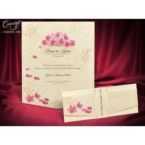 Invitatie Eleganta Flori