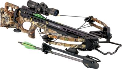 """Thanks to the sleek XLT assembly and FSB™ bullpup stock, it's one of the shortest and most compact crossbow ever made by TenPoint. Weighing in at 6.8 lbs., it's an ideal choice for all-day outings. Xtreme Limb Technology boasts a short 13-1/2"""" axle-to-axle cocked length that's great for confined blinds and stands."""