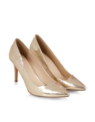 Chamberlin Metallic Court Shoe | Monsoon