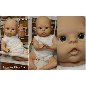 Luna Vinyl Doll Kit By Olga Auer