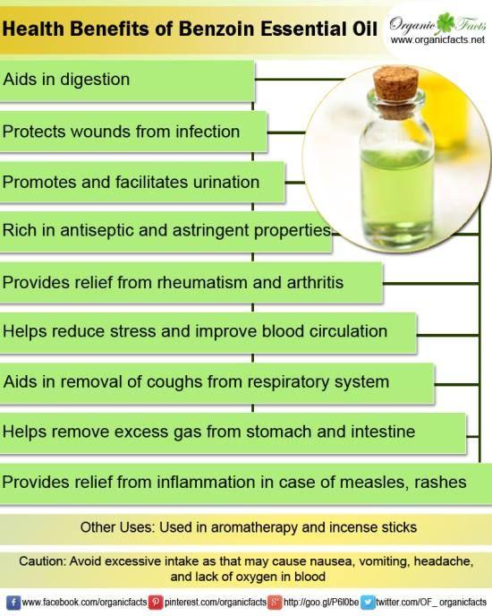 benzoin essential oil info