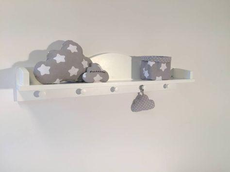 Hübsches Regal Wolke von Puckdaddy für all Deine Wickelutensilien ✓ tel. Kundenservice ✓ Jetzt online bestellen ✓schneller Versand ✓ Kindermöbel und Textilien