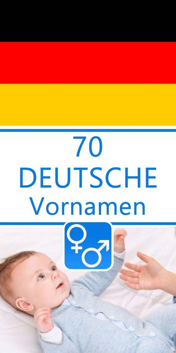 70 Deutsche Vornamen Für Jungen Und Mädchen Namen Vornamen Für