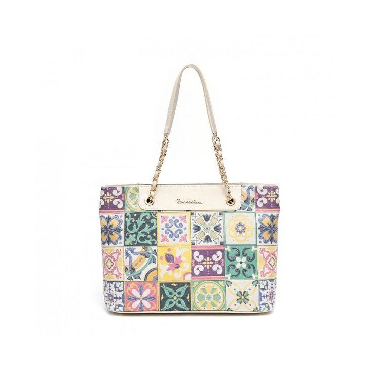 Borsa Braccialini Mosaico http://lamaisonchic.biz/home/2073-borsa-braccialini-shopper-mosaico.html