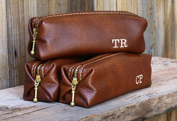 ***** NOTE: This listing is for one bag ***** ----Ultimate Leather Gift Guide---- 1) Practical -- CHECK 2) Indestructible – DOUBLE CHECK 3) Manly Color & Texture – CHECK 4) Personalized – CHECK 5) Aroma exceeding New Car Smell—TRIPPLE CHECK 6) Lifetime Warranty – Super Check!!