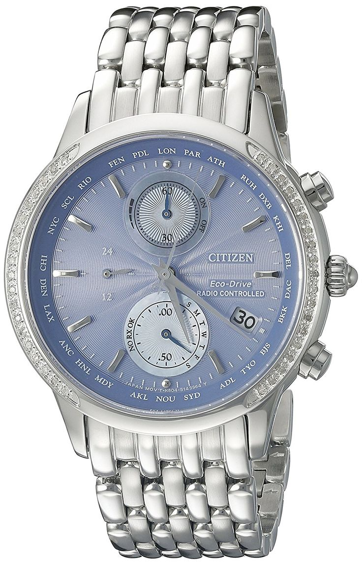 Citizen Eco-Drive Women's FC5000-51L World Chronograph A-T Watch *** Check this awesome watch by going to the link at the image.