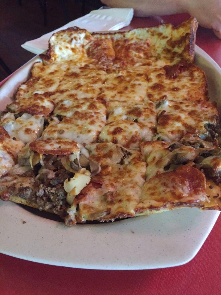 Fleur de Lis Pizza - Baton Rouge, LA, United States. Yum!!!