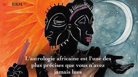 Astrologie africaine : D'abord, il faut savoir que l'astrologie africaine est l'une des formes les plus simples et les plus précises de l'astrologie