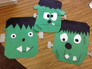 Frankenstein Craft by The Research Based Classroom