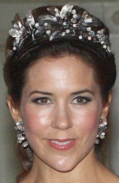 Tiara Mania: Midnight Tiara(Moonstones & Diamonds)(Crown Princess Mary of Denmark has exclusive rights to use the Tiara, she doesn't own it)