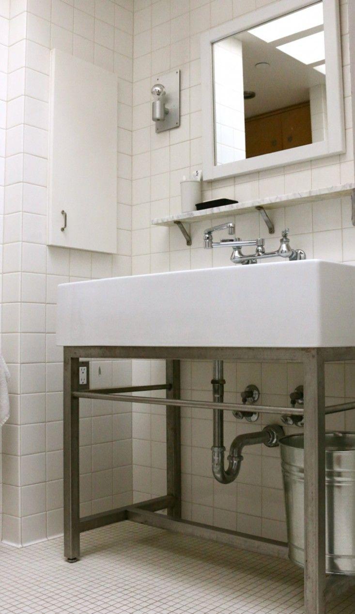 All White Bathroom, Remodelista