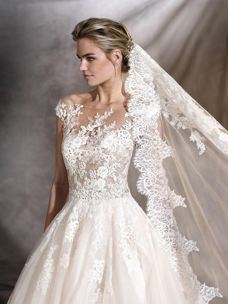 Amato Oltre 25 fantastiche idee su Abiti da sposa floreali su Pinterest  JB31