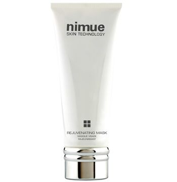 Rejuvenating Mask. A cream mask that delivers instant results for a dramatically rejuvenated skin. Vitamin A and C Ester and Alpha Lipoic Acid provide an intensive treatment to revive the skin. 100ml. Nimue Skin Technology.
