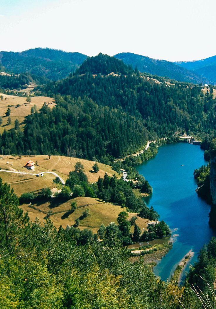 Lake in Tara National Park and village by Маријана Петровић (Serbia)
