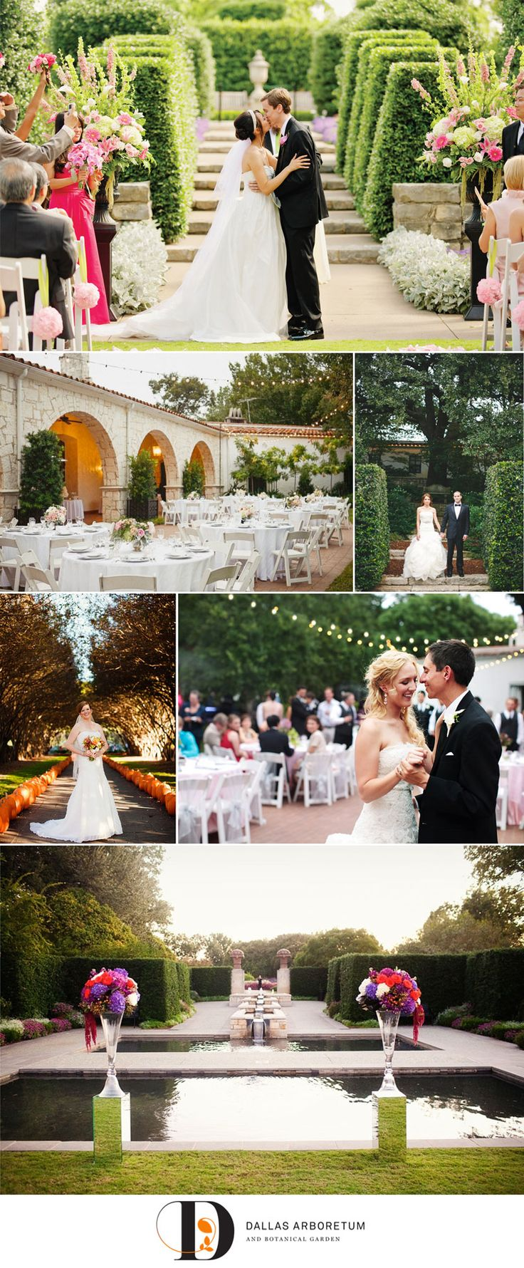 Luxe Location: Dallas Arboretum & Botanical Garden #wedding #luxelocation #garden