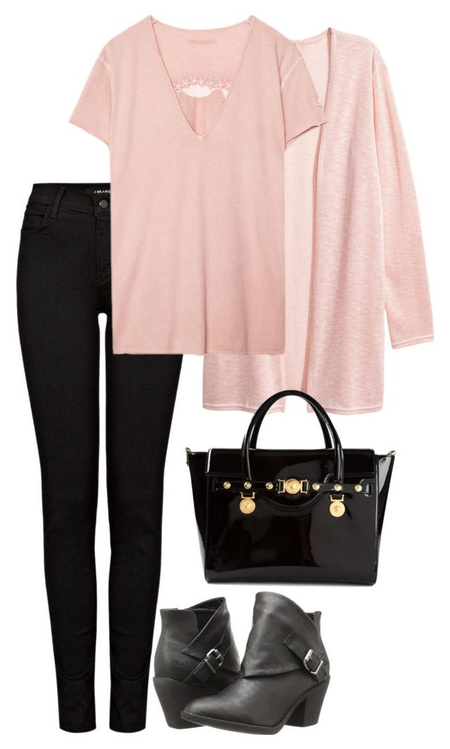 """Office Casual #161"" by amooshadow on Polyvore featuring J Brand, Zadig & Voltaire, Blowfish and Versace"
